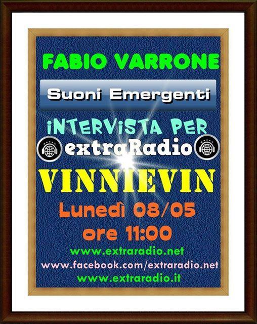 Intervista VinnieVin su Radioextra.net
