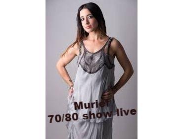 MURIEL CANTANTE DONNA LIVE SHOW+DJ XSERATE PERUGIA UMBRIA