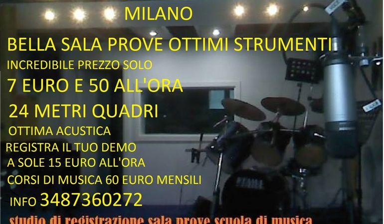 BRESSO SALA PROVE STUDIO DI REGISTRAZIONE SCUOLA DI MUSICA 3487360272
