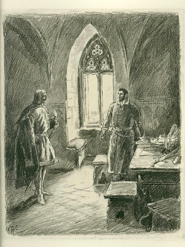 Ilustrace k dílu A. Jiráska