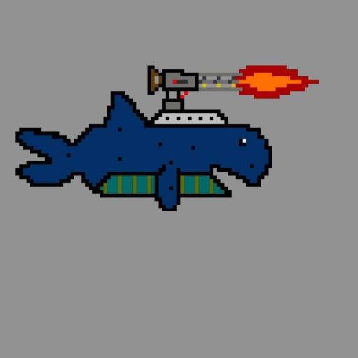 A Whale in Space Icon