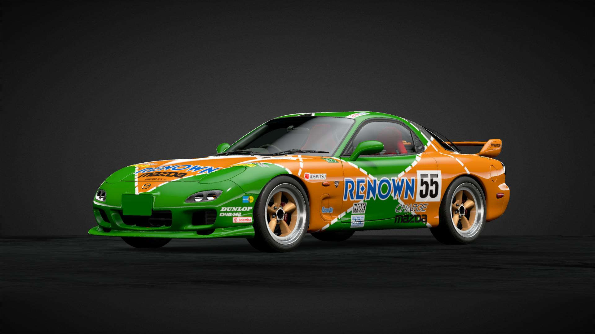 Rx 7 Renown 787b Tribute Car Livery By Cytoria