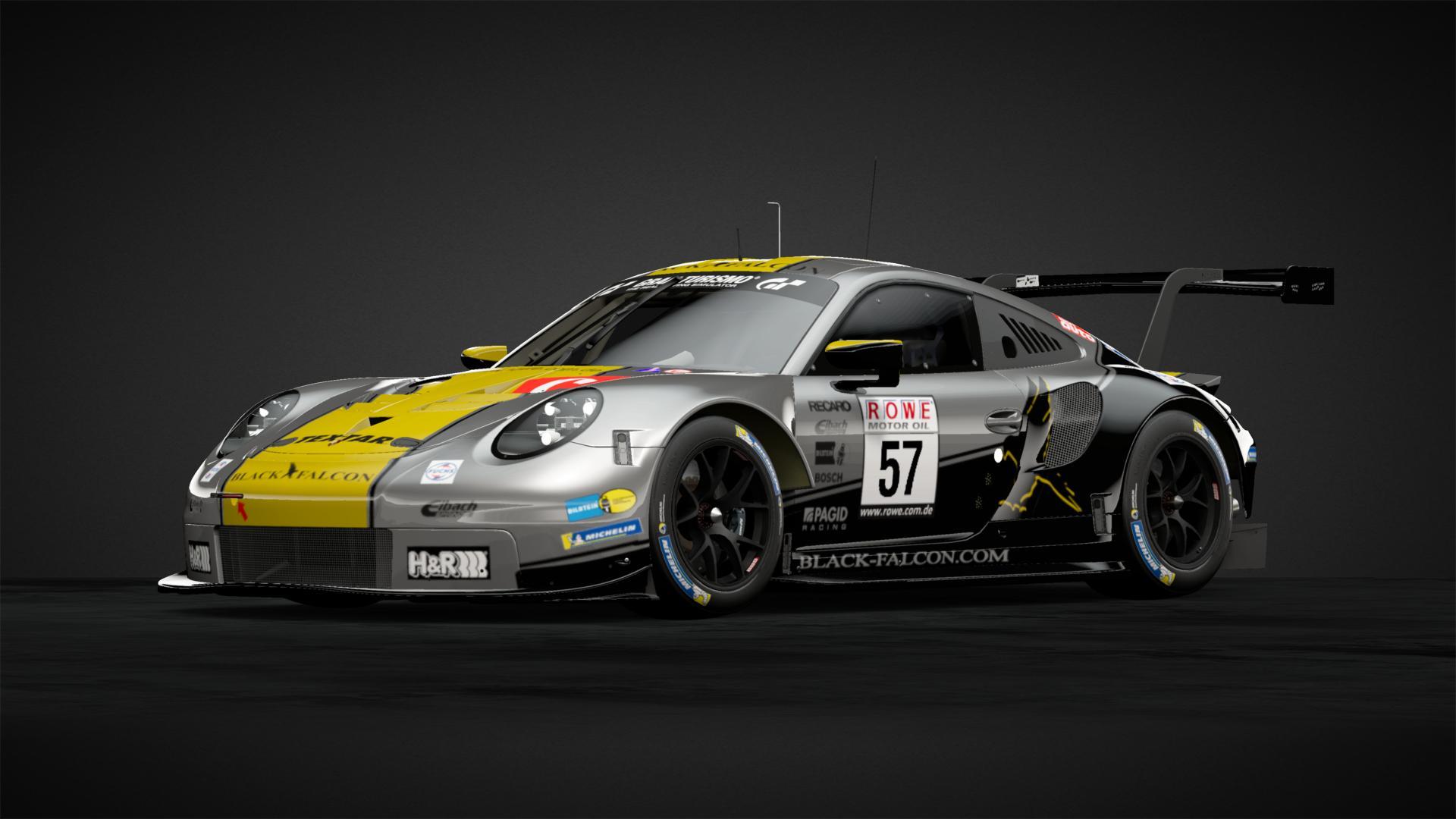 Porsche Gt3 Black Falcon Racing Car Livery By Tgr97 Mika Community Gran Turismo Sport