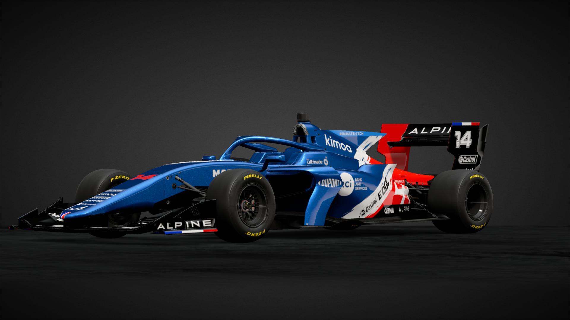 Alpine F1 2021 Concept Car Livery By Benjaguz Community Gran Turismo Sport