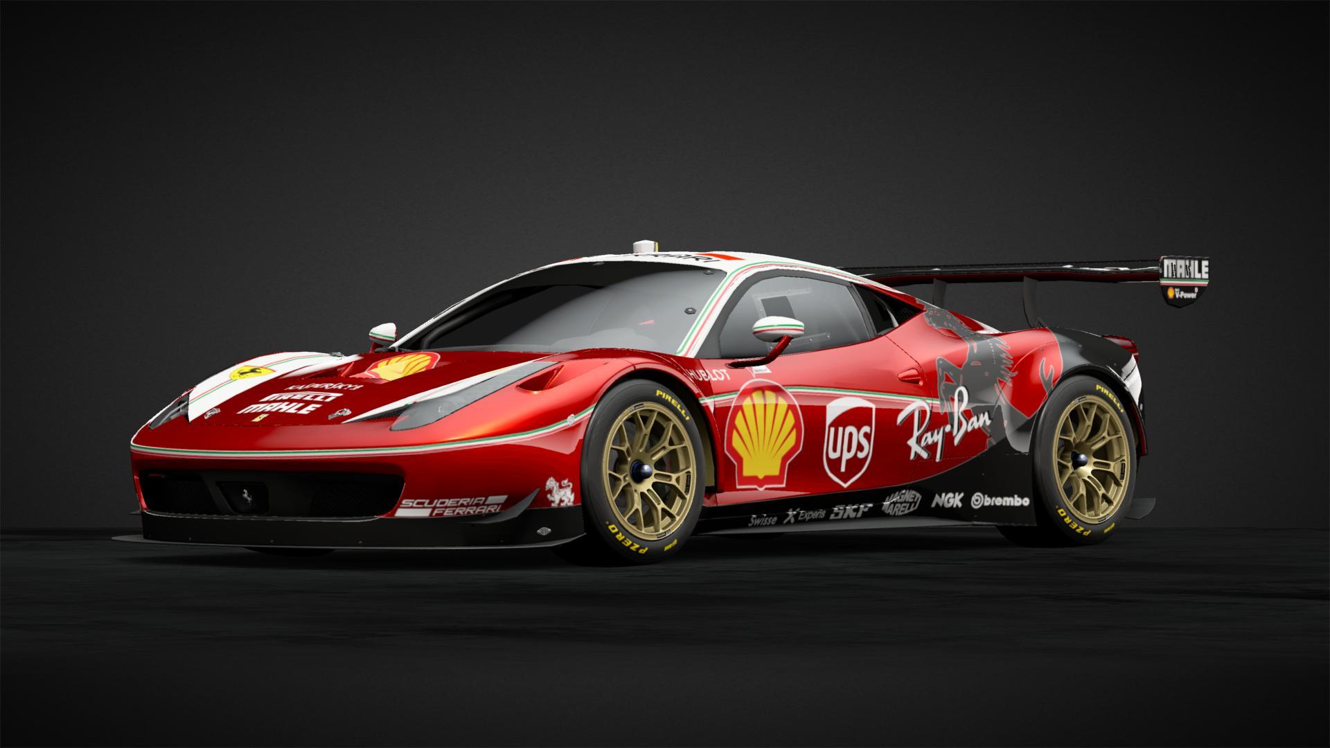 Ferrari 458 Gt3 F1 Style Car Livery By Punkboard Community Gran Turismo Sport