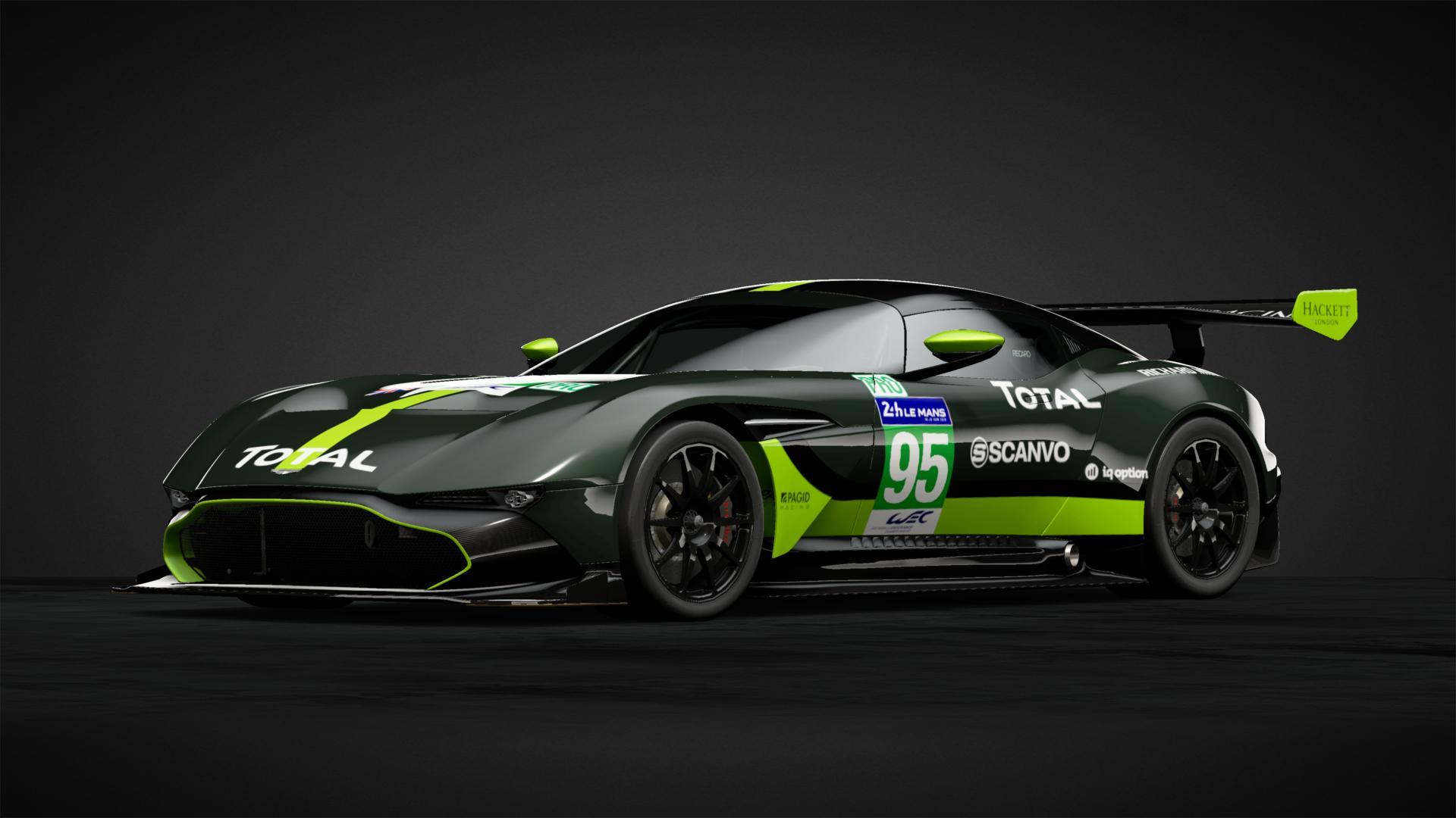 Aston Martin Vulcan Gte No 95 Car Livery By Speedchaserracin Community Gran Turismo Sport