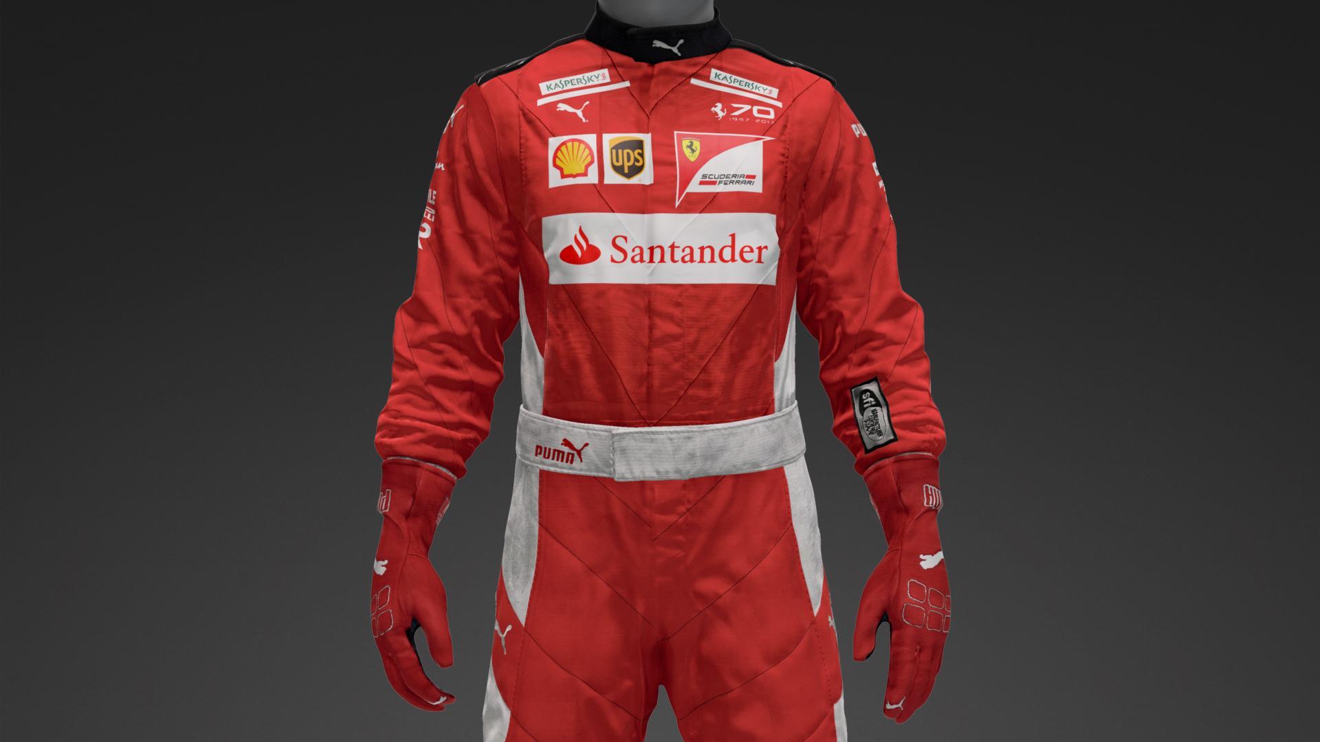 Ferrari F1 Race Suit Suit Livery By Maddslav Community Gran Turismo Sport