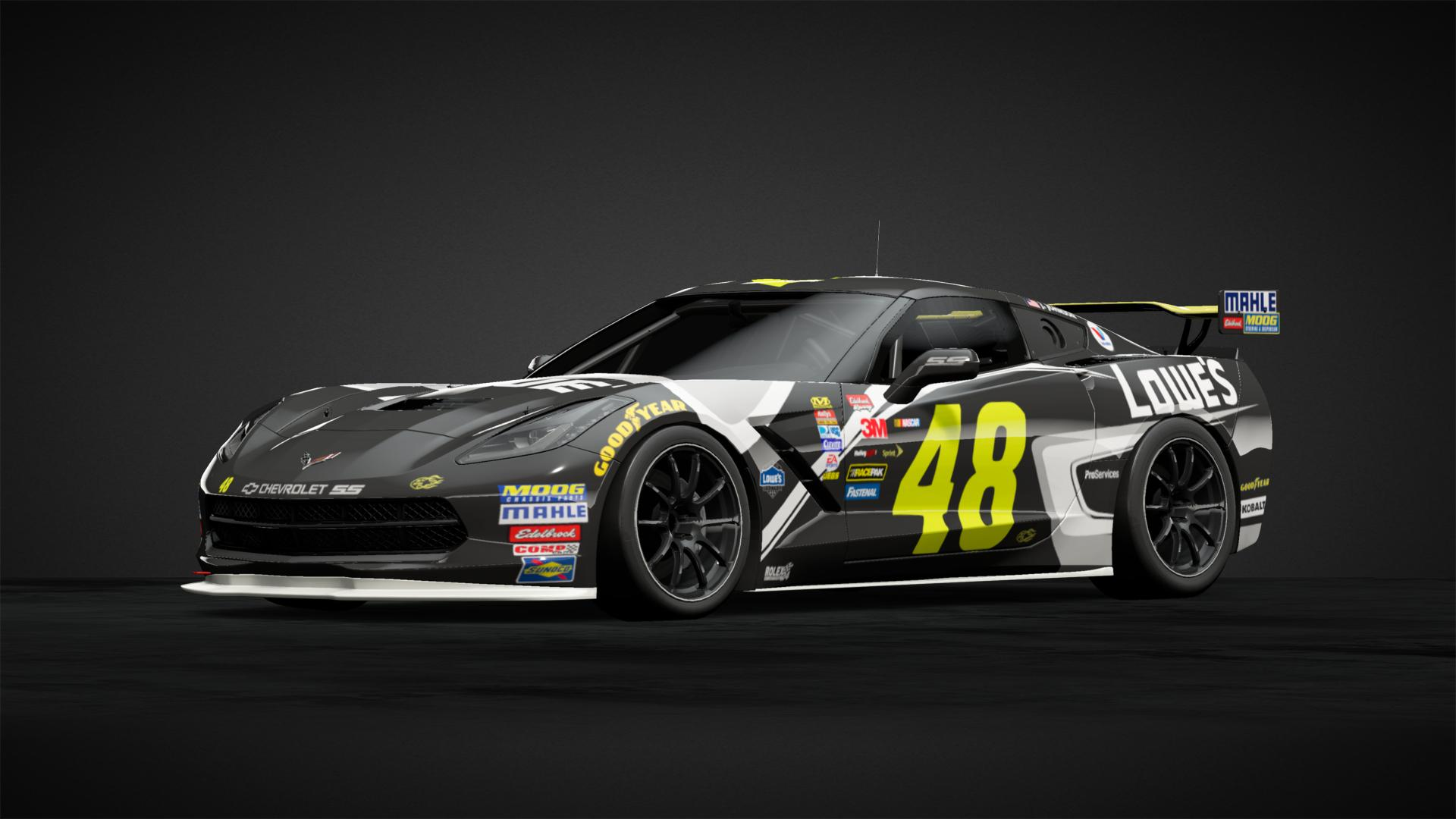 Chevrolet 48 Team Lowes Black Car Livery By Yakson87 Community Gran Turismo Sport