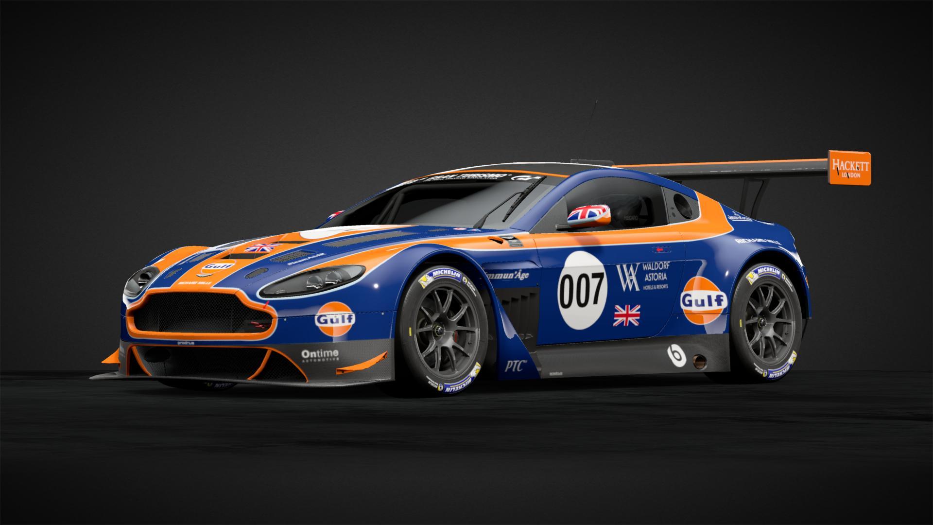 Aston Martin Racing Gulf Car Livery By Tob Racer Community Gran Turismo Sport
