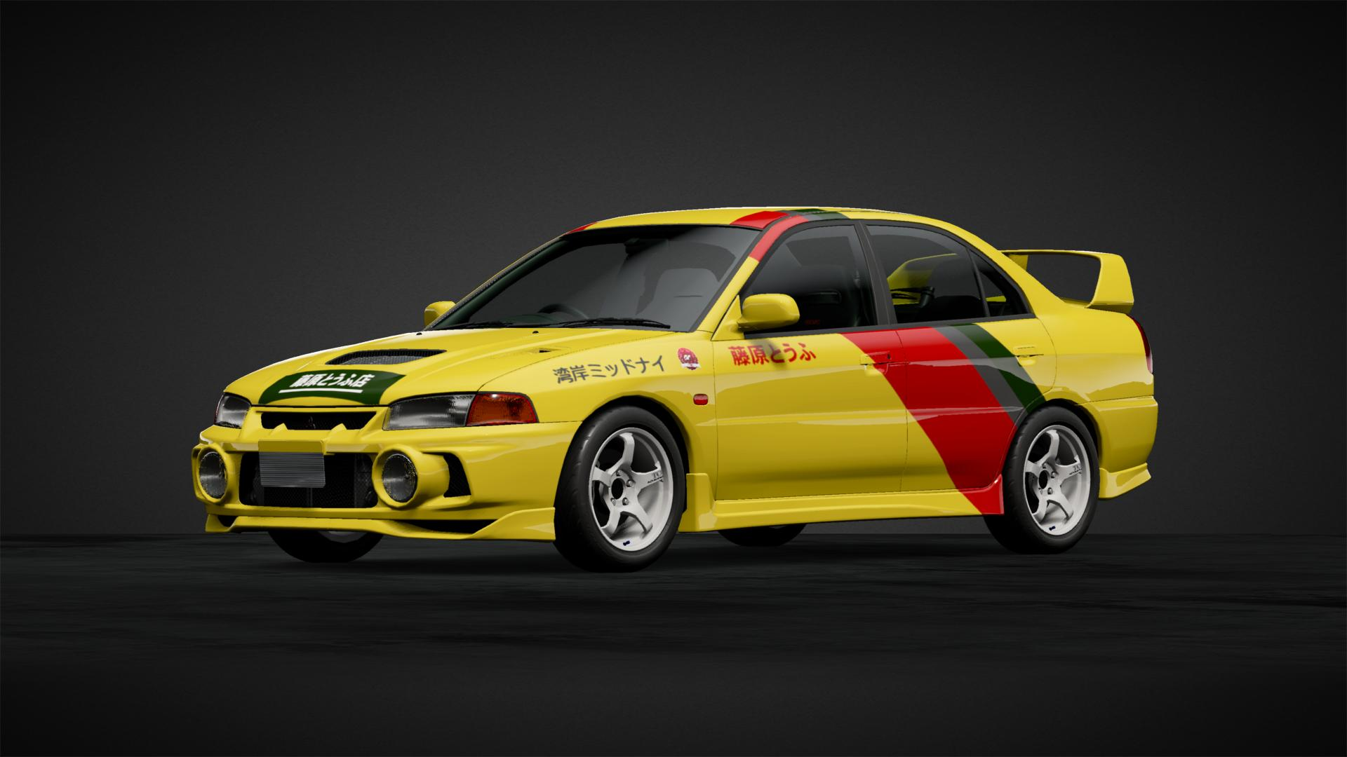 Thunderbolt Evo 3 Car Livery By D Ultra161 Community Gran Turismo Sport