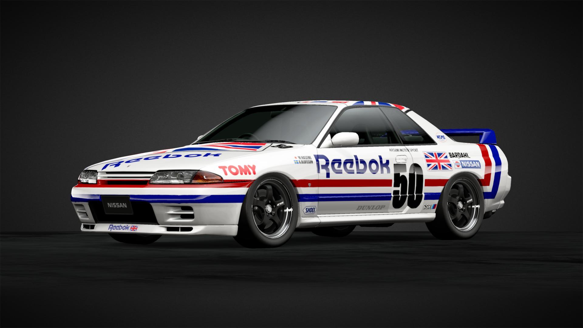 reebok motorsport