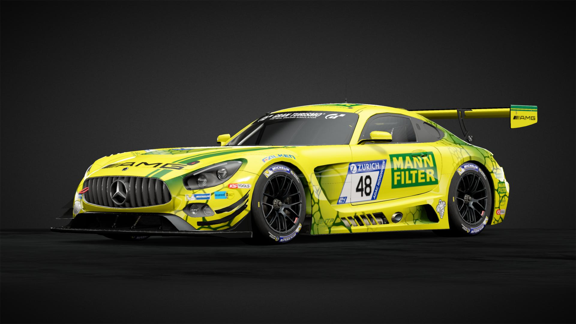 Replica 2018 Amg Green Mamba Car Livery By Mike Stafford Community Gran Turismo Sport