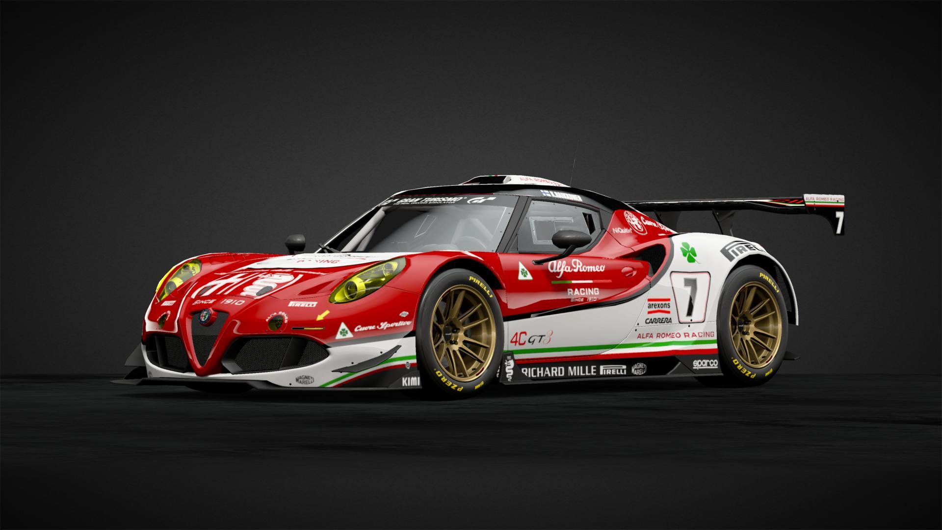 Alfa Romeo 4c Racing Car Livery By Super Italia 10 Community Gran Turismo Sport