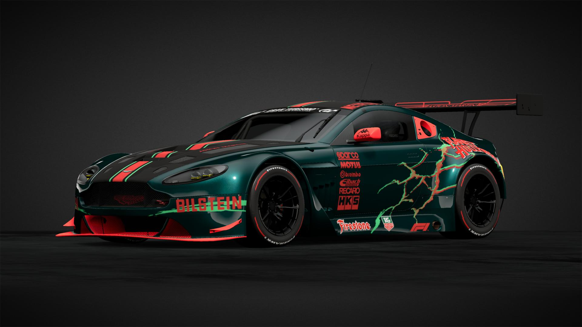 Aston Martin Custom Fluorescent Car Livery By Arieferrarie Community Gran Turismo Sport