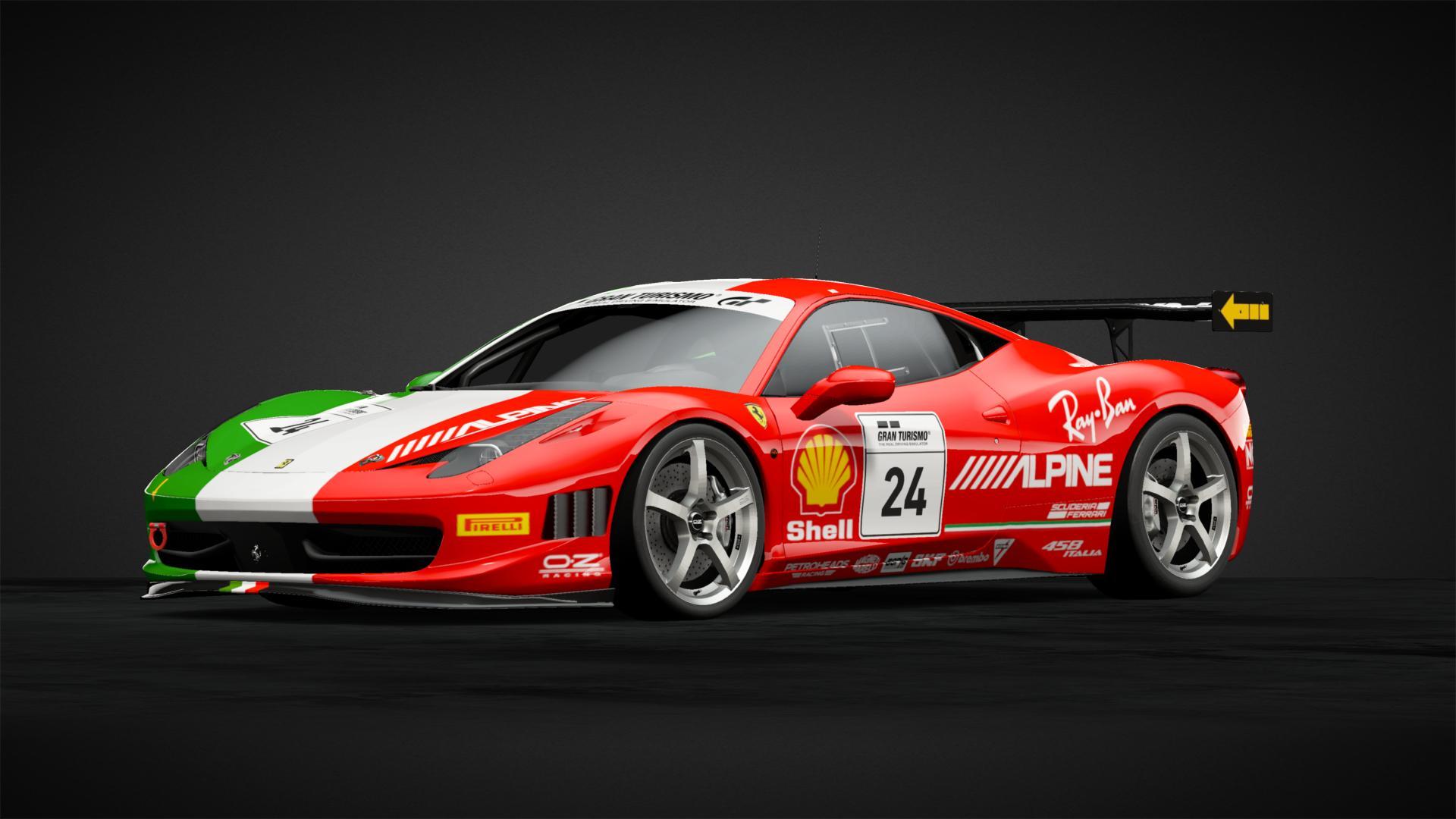 Ferrari Italian Flag Car Livery By Tahoeracing Community Gran Turismo Sport