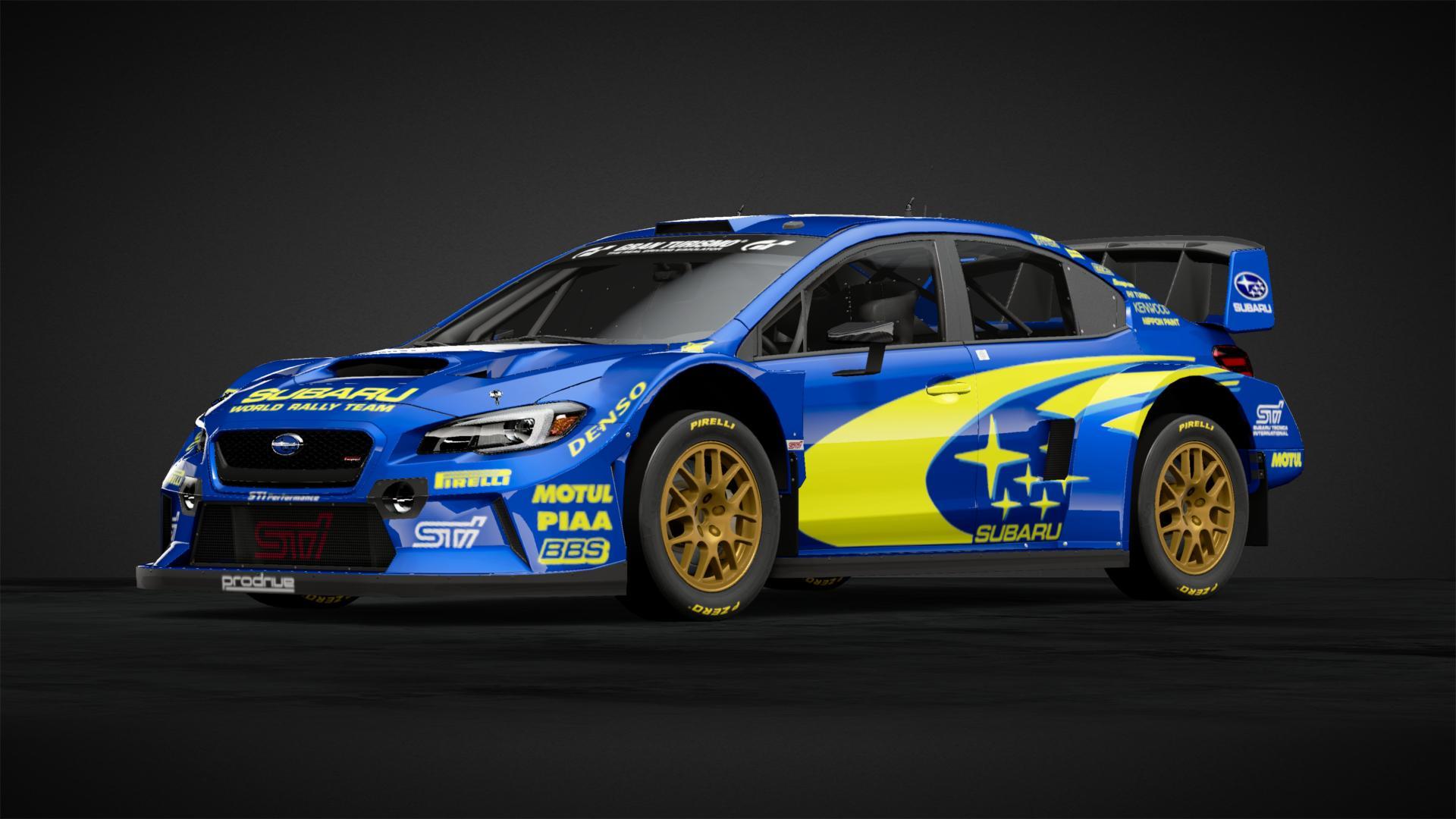 Subaru Wrx Rally Car Car Livery By Airbossaj Community Gran Turismo Sport