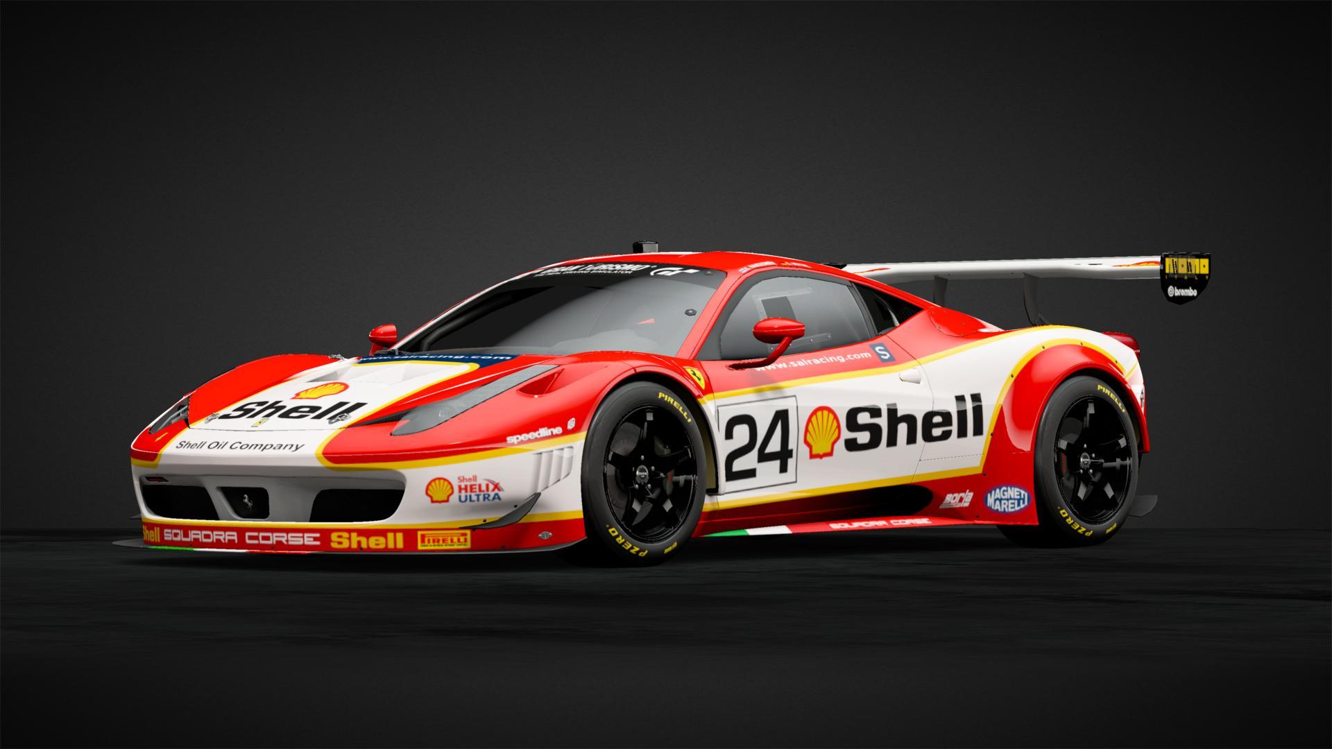 Shell Ferrari 458 Italia Gt3 Car Livery By Tahoeracing Community Gran Turismo Sport