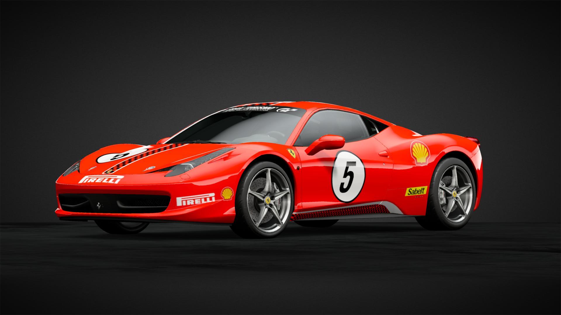 Ferrari 458 Gt3 Car Livery By Airbossaj Community Gran Turismo Sport