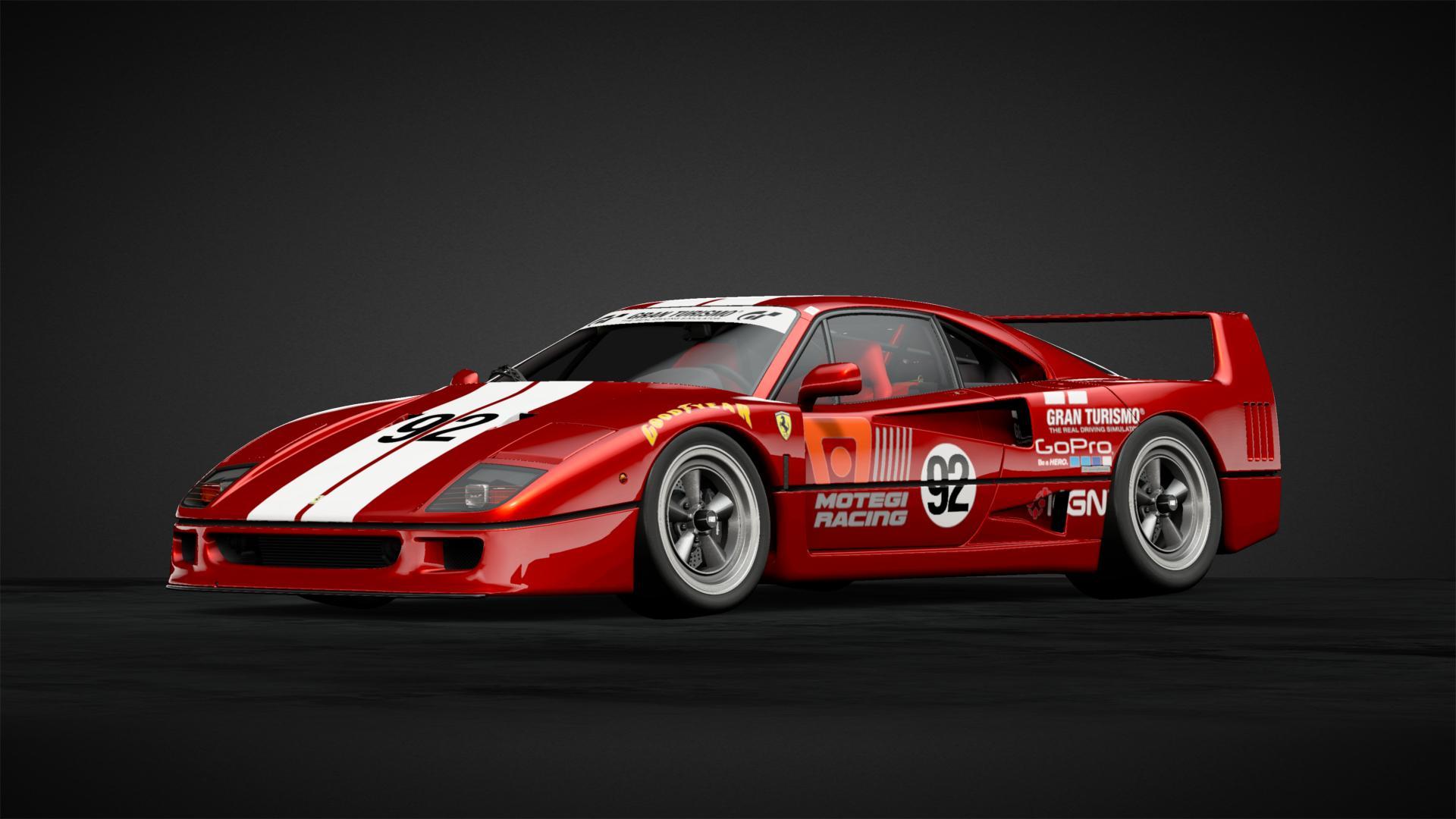 92 Ferrari F40 1992 Lm Road Car Car Livery By Loganator2607 Community Gran Turismo Sport