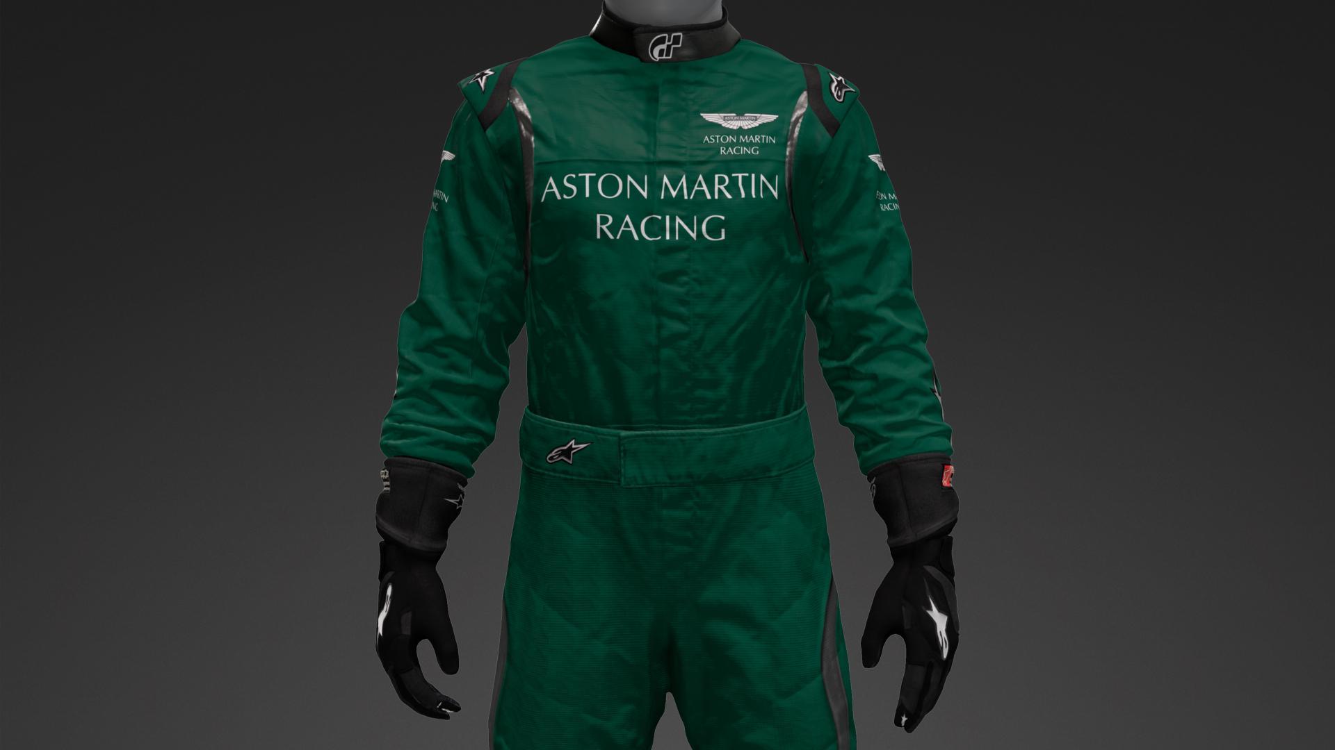 Aston Martin Theme Suit Livery By Zeptrans Community Gran Turismo Sport