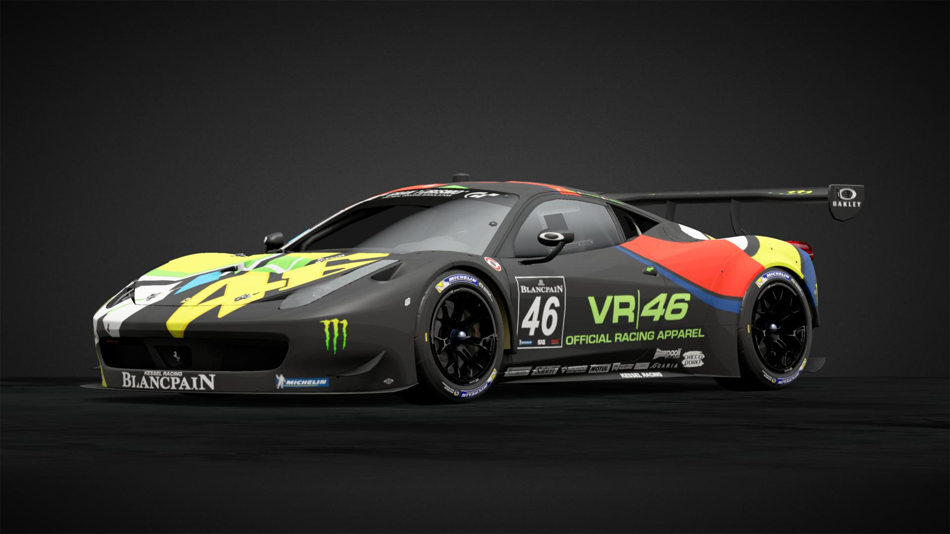 458 Gt3 Vr46 Car Livery By Dcassa Community Gran Turismo Sport