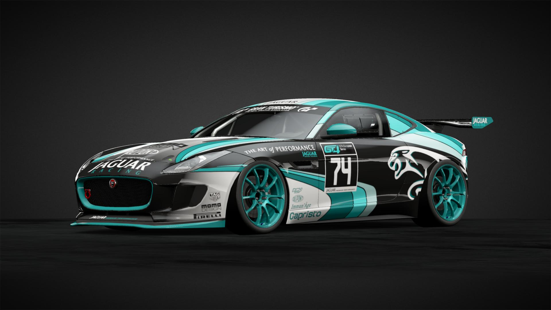 Jaguar Racing Car Livery By Baco0974 Community Gran