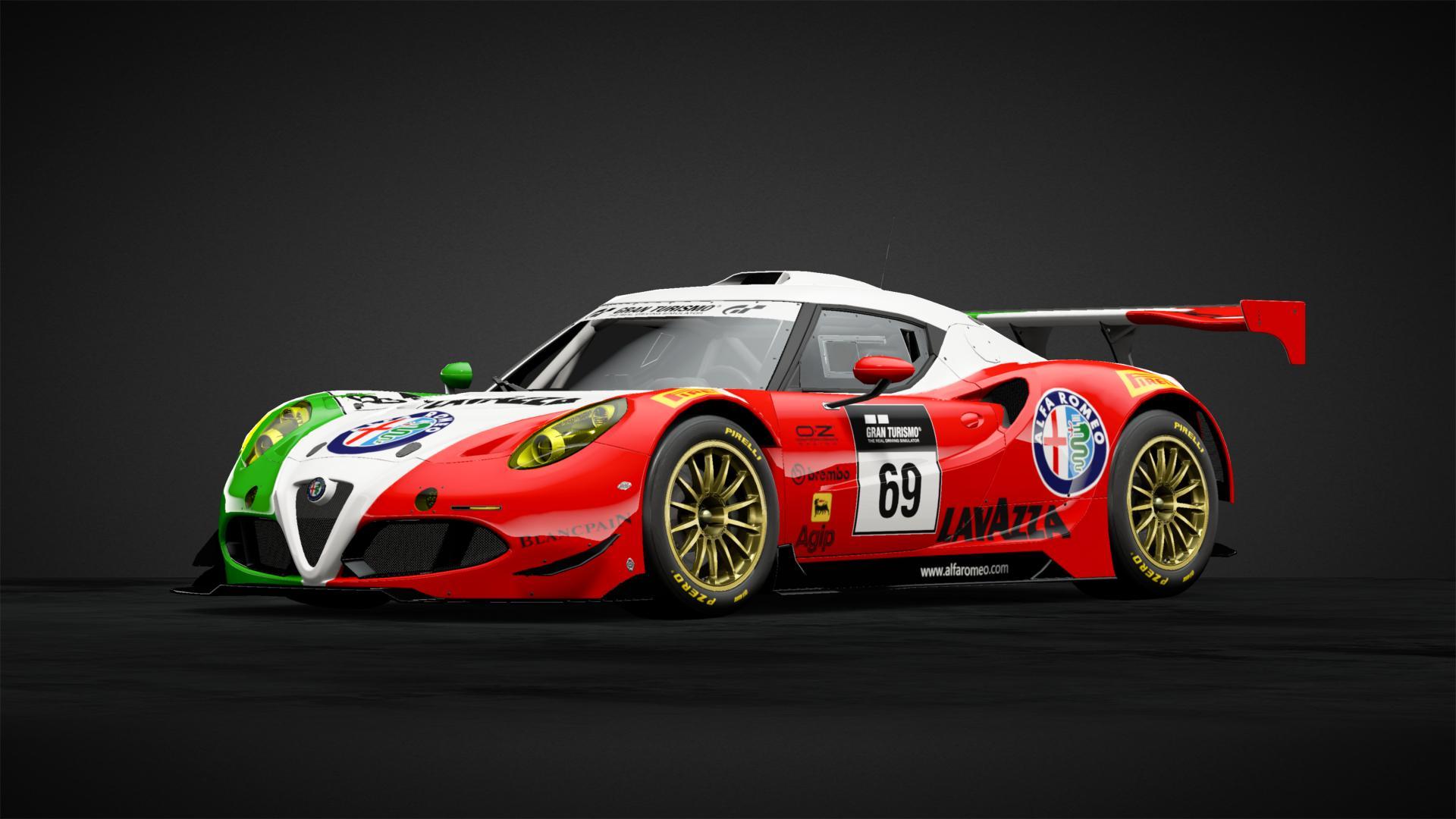 Alfa Romeo 4c Gt3 Car Livery By Tytem Community Gran Turismo Sport