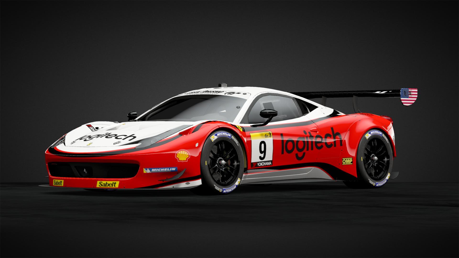 9 Ferrari 458 Gt3 Team Afcorse Car Livery By Demineur Bv Community Gran Turismo Sport