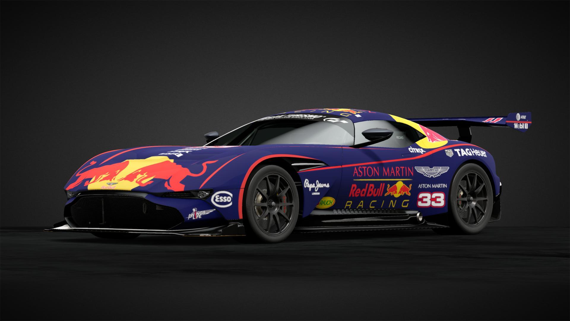 Red Bull Aston Martin Vulcan 33 Car Livery By Jackcsh1 Community Gran Turismo Sport