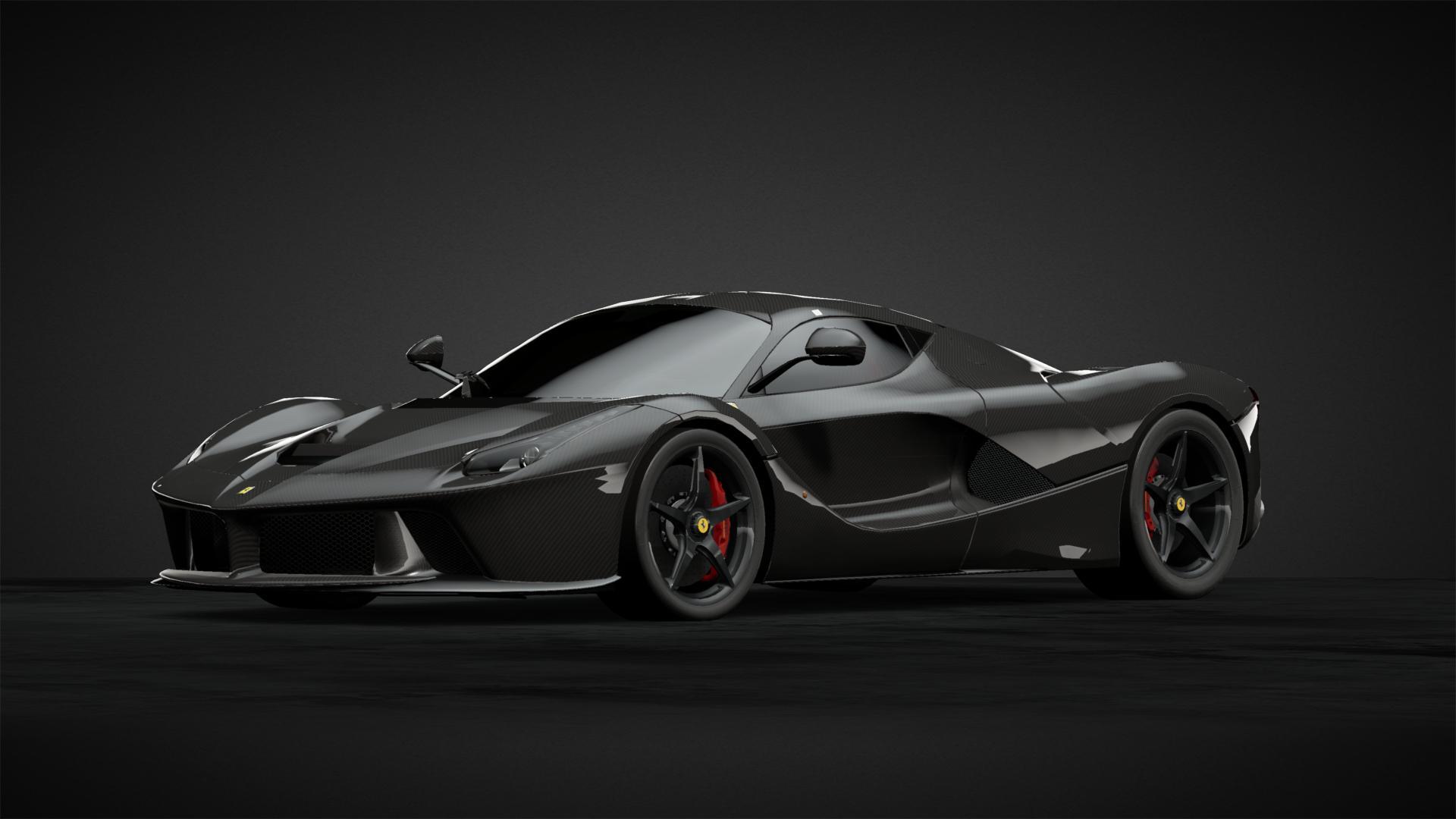 Carbon Fibre La Ferrari Car Livery By Grenshaw Community Gran Turismo Sport