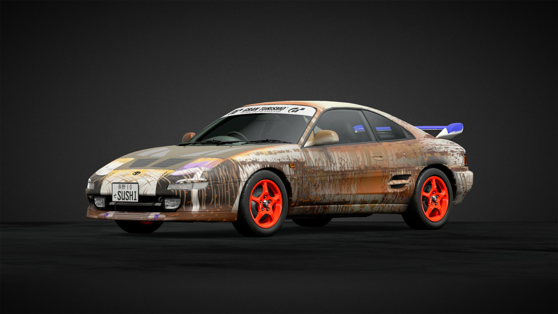 Tuner Ridge Rust Car Livery By Snakexreloaded Community Gran Turismo Sport