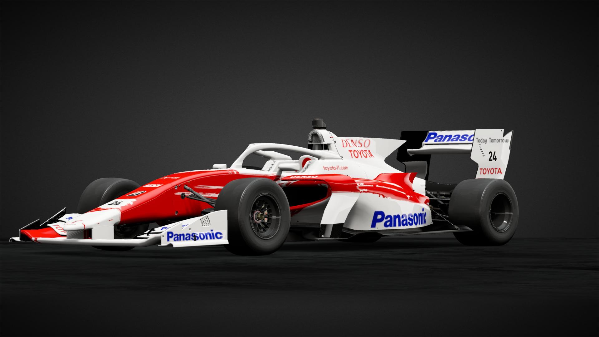 Panasonic Toyota Racing F1 - Car Livery by Paul2007 ...