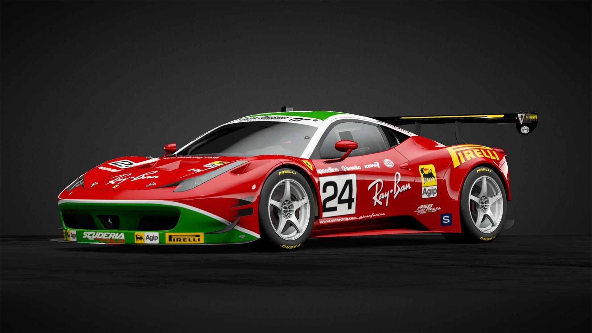 Italia Ferrari 458 Gt3 Car Livery By Tahoeracing Community Gran Turismo Sport