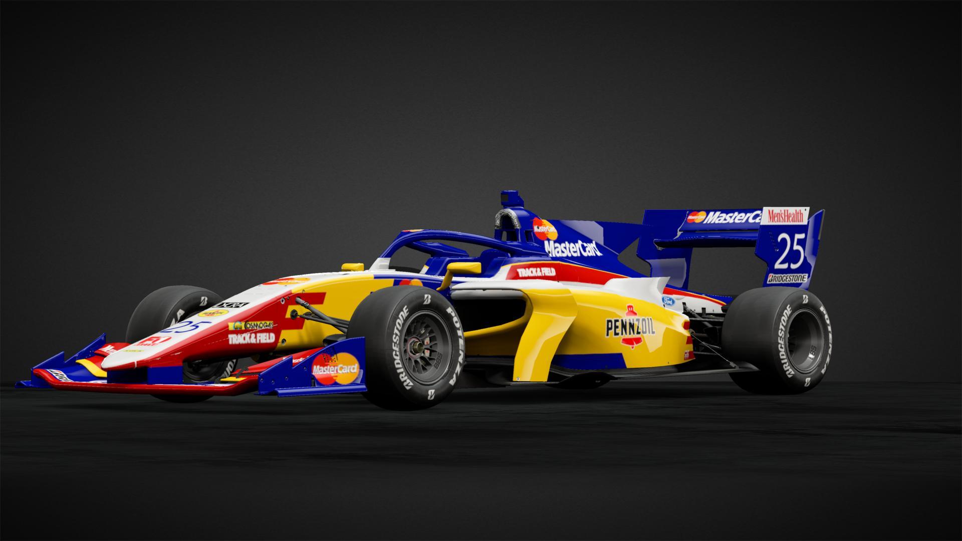 Mastercard Lola F1 Teams Background 2