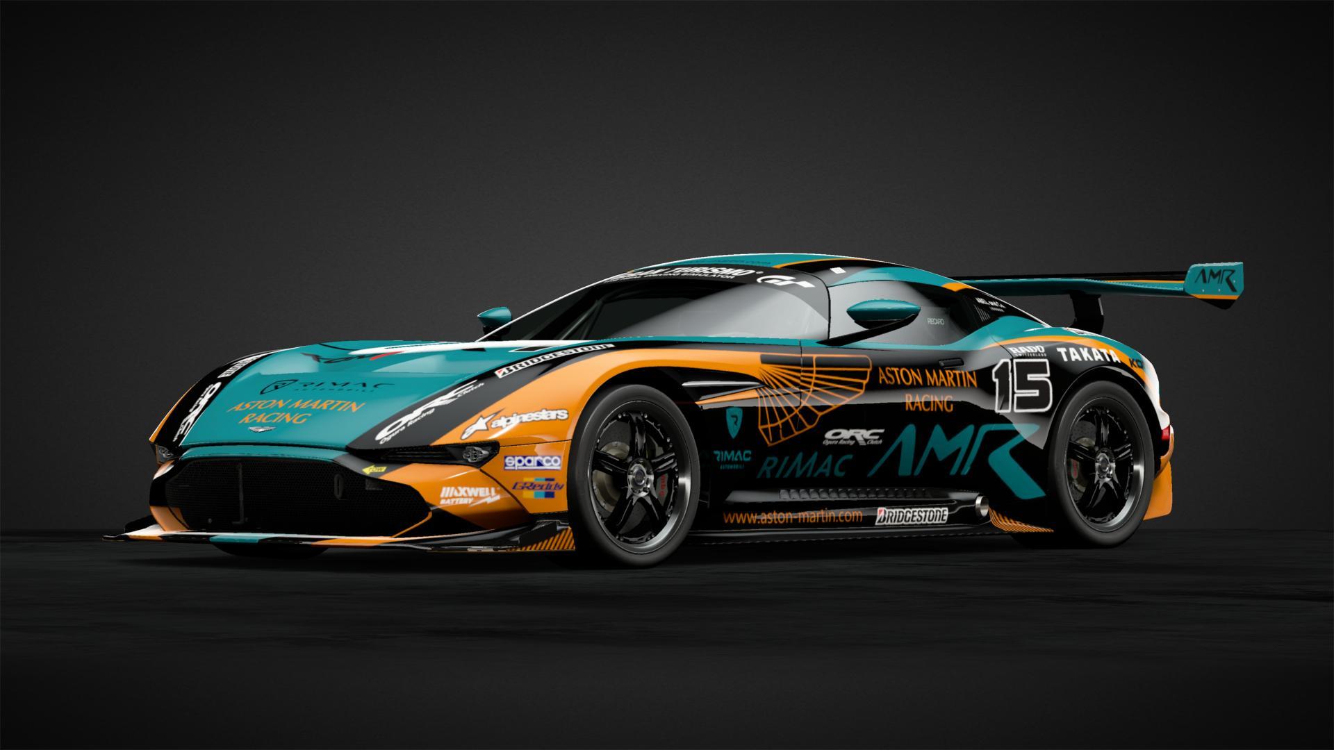 Aston Martin Vulcan Car Livery By Samakorn12 Community Gran Turismo Sport