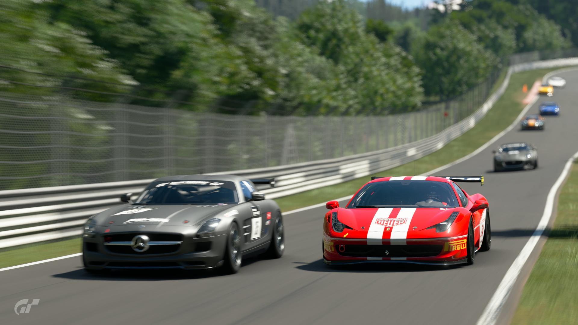 Ferrari Vs Mercedes Race Photos By Tahoeracing Community Gran Turismo Sport