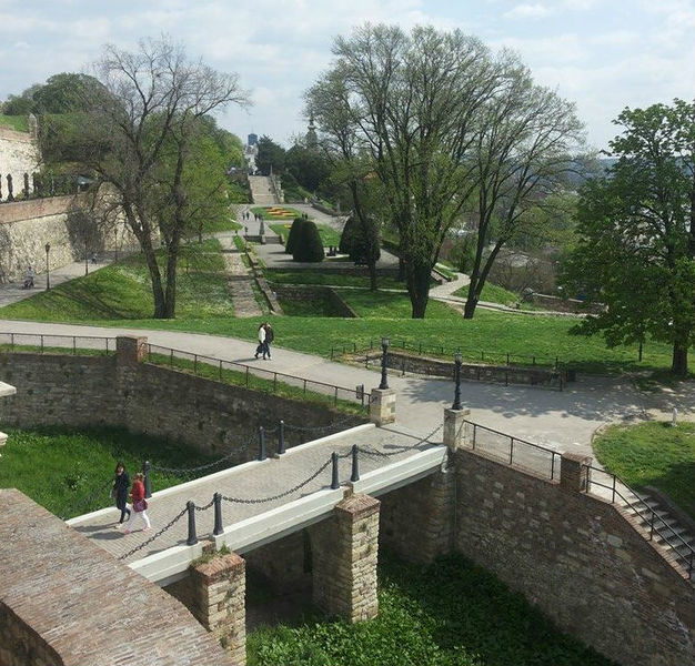 Kalemegdan is perfect for long, relaxed walks
