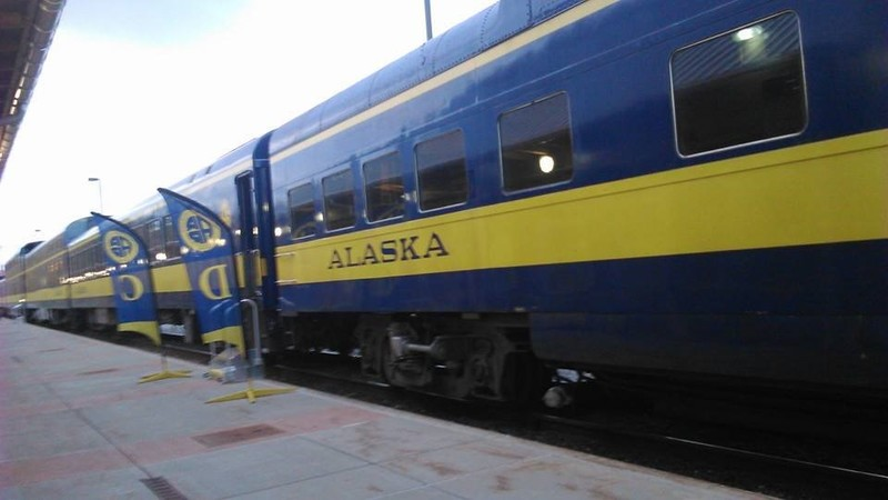 Our train before departure