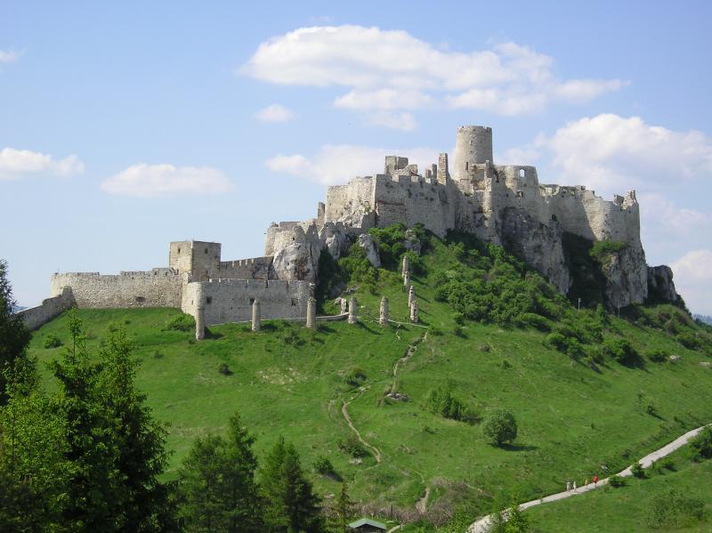 Spisky hrad Castle