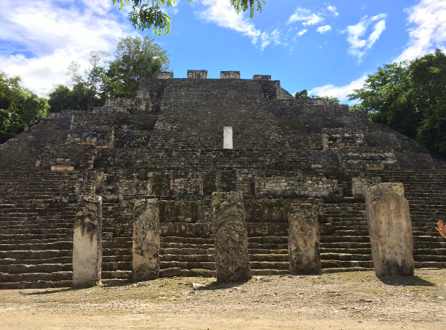 The forgotten city of  Calakmul