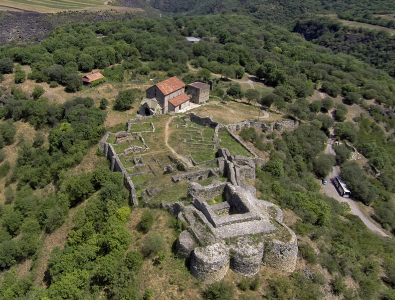 The Ruins of the Dmanisi Castle