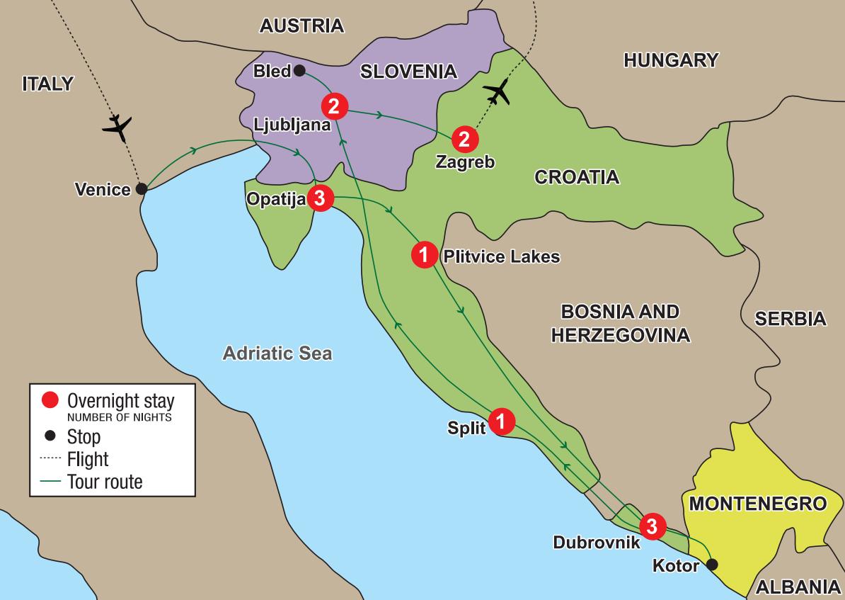Discover Croatia Slovenia  The Adriatic Coast