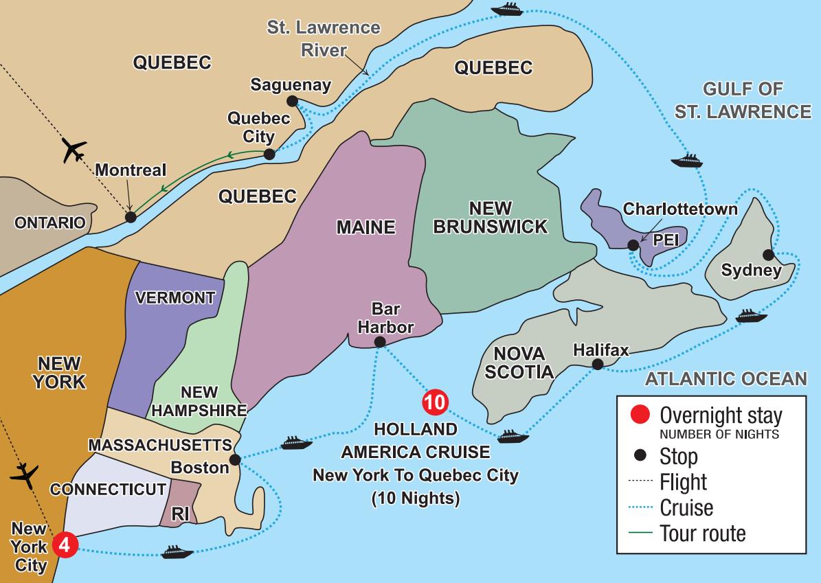 New York City Amp Atlantic Canada Cruising