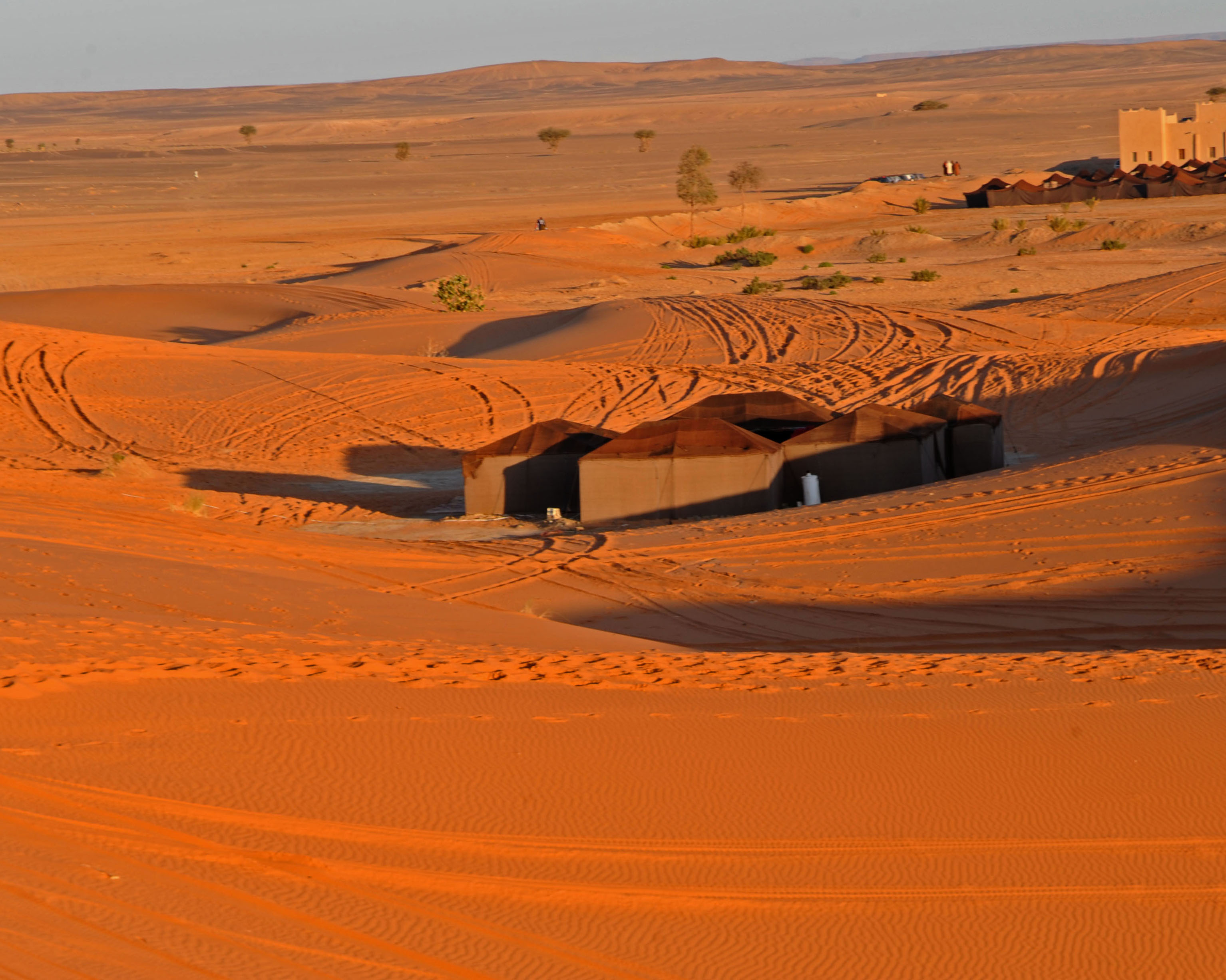 Private Sahara Campsite Morocco