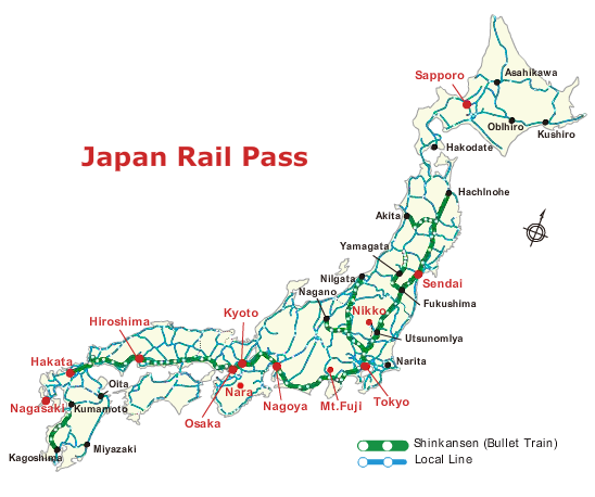 Png - Japan map rail