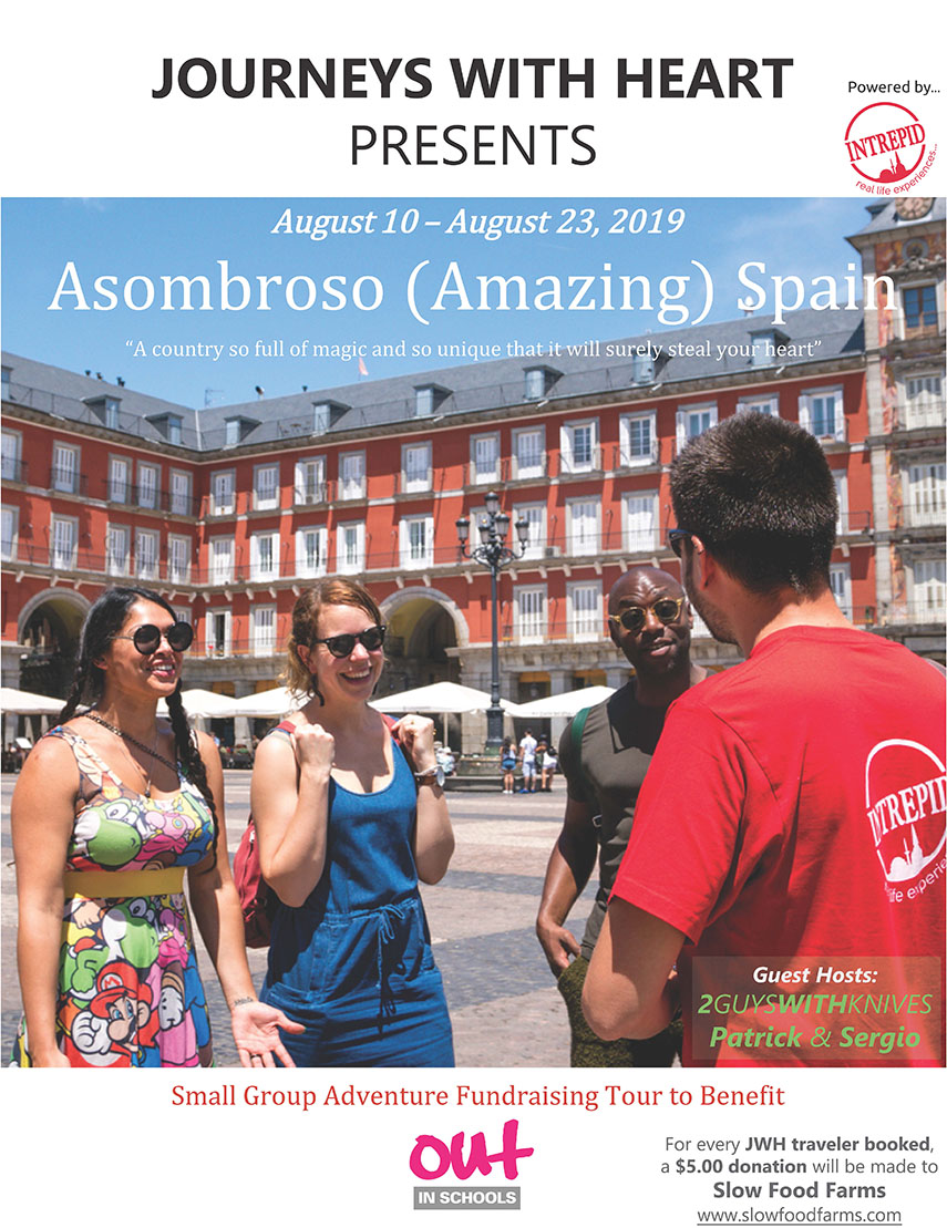 "Asombroso (Amazing) Spain ""A country so full of magic and so unique that it will surely steal your heart"" August 10 – August 23, 2019"