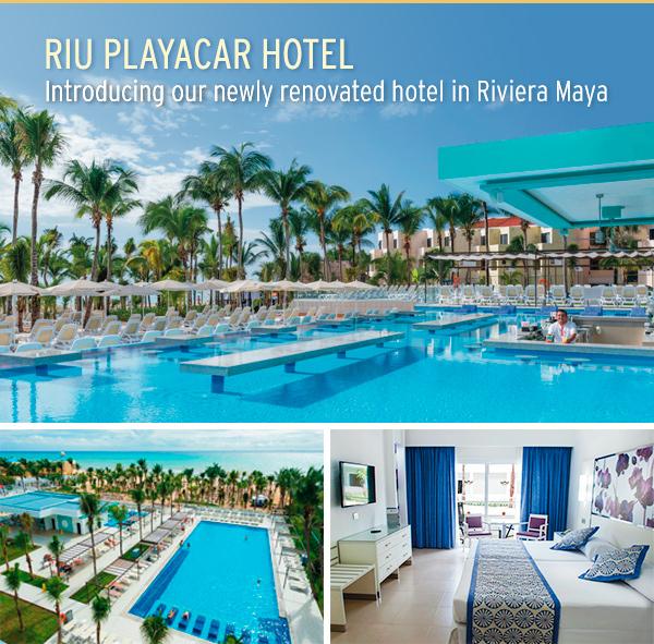 Riu Playacar Renovations : Riu playacar our newly renovated hotel in riviera maya