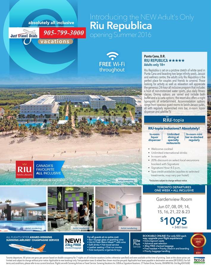 Introducing The NEW Riu Republica In Punta Cana