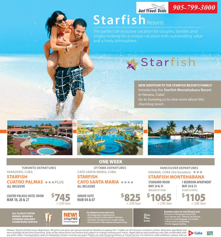 Vancouver Vacations Packages: Experience Starfish Resorts