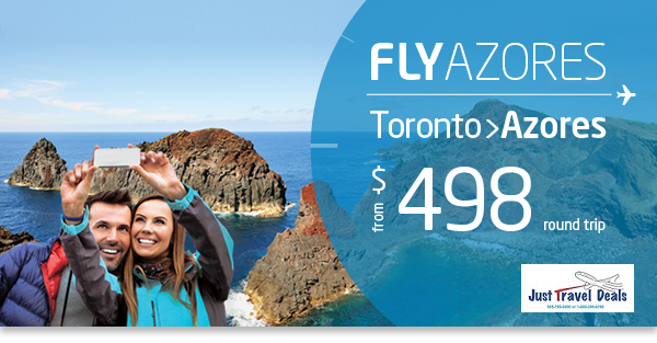 toronto flights to azores from 498. Black Bedroom Furniture Sets. Home Design Ideas